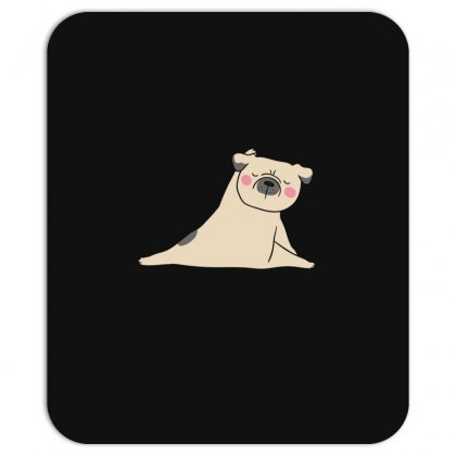 Pug Dog Yoga Mousepad Designed By Wizarts