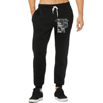 Save A Pitbull Euthanize A Dog Fighter Unisex Jogger Designed By Wizarts