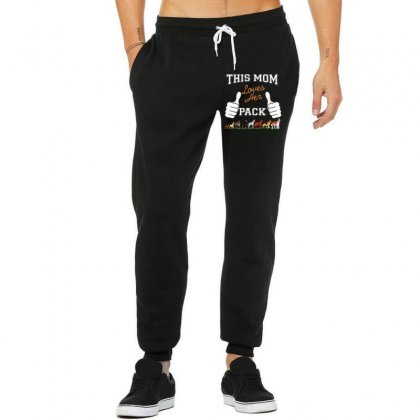 This Mom Loves Her Pack Unisex Jogger Designed By Wizarts