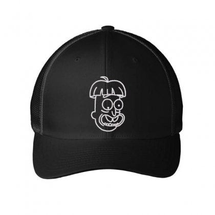 Crazy Embroidered Mesh Cap Designed By Madhatter