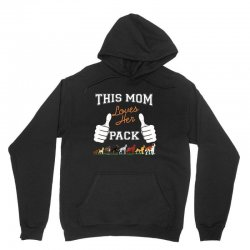 this mom loves her pack Unisex Hoodie | Artistshot
