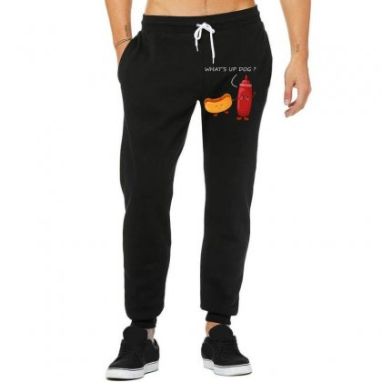 What's Up Dog Unisex Jogger Designed By Wizarts