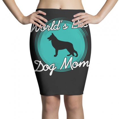 World's Best Dog Mom Pencil Skirts Designed By Wizarts