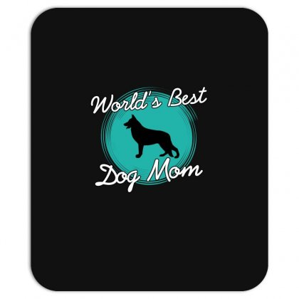 World's Best Dog Mom Mousepad Designed By Wizarts