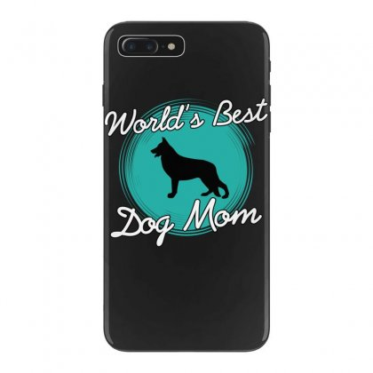 World's Best Dog Mom Iphone 7 Plus Case Designed By Wizarts