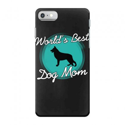World's Best Dog Mom Iphone 7 Case Designed By Wizarts