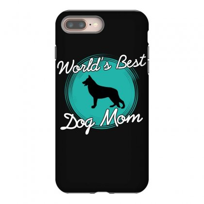 World's Best Dog Mom Iphone 8 Plus Case Designed By Wizarts