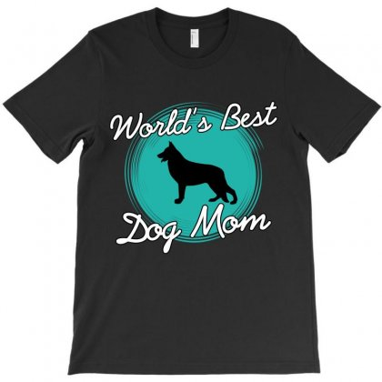 World's Best Dog Mom T-shirt Designed By Wizarts