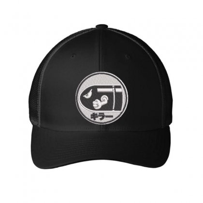 Bullets Embroidered Mesh Cap Designed By Madhatter