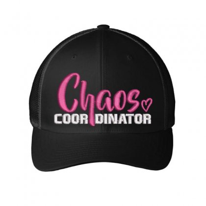 Chaos Embroidered Mesh Cap Designed By Madhatter