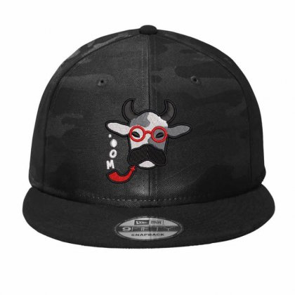 Cow Camo Snapback Designed By Madhatter