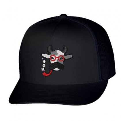 Cow Trucker Cap Designed By Madhatter
