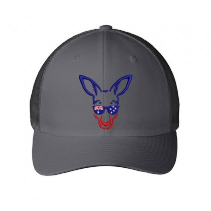 Donkey Embroidered Mesh Cap Designed By Madhatter