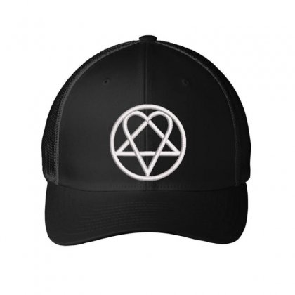Shapes Embroidered Mesh Cap Designed By Madhatter
