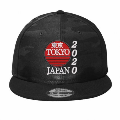 Tokyo Japan 2020 Camo Snapback Designed By Madhatter