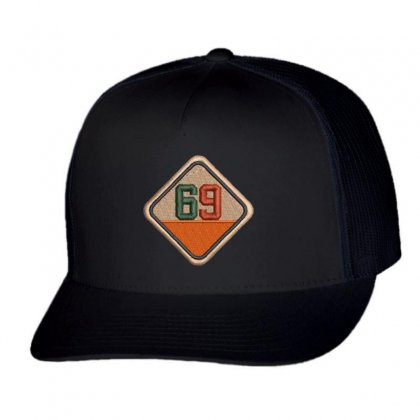 Sixty Nine 69 Trucker Cap Designed By Madhatter