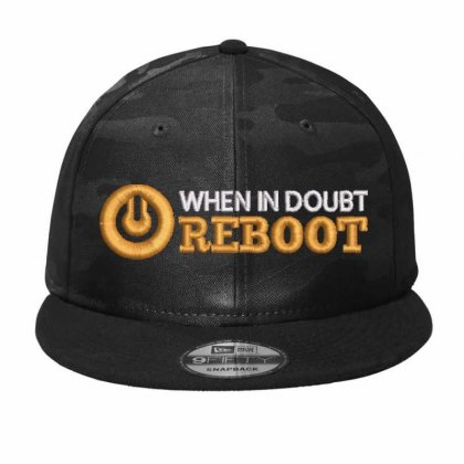 Reboot Camo Snapback Designed By Madhatter