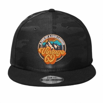Vintage 69 Camo Snapback Designed By Madhatter