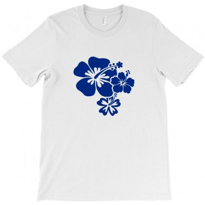 Hibiscus Flowers T-shirt Designed By Teeshop