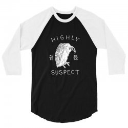 highly suspect logo 3/4 Sleeve Shirt | Artistshot