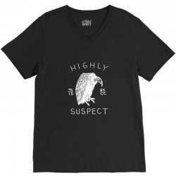 highly suspect logo V-Neck Tee | Artistshot