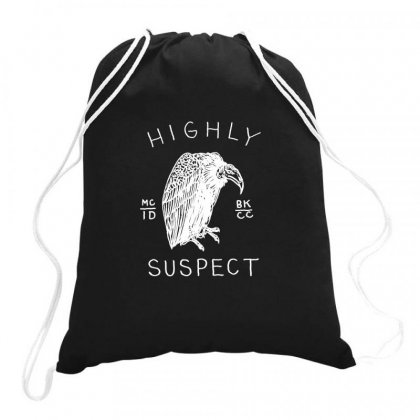 Highly Suspect Logo Drawstring Bags Designed By Teeshop