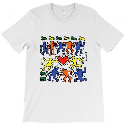 Dance Together - Keith Haring T-shirt Designed By Jetstar99