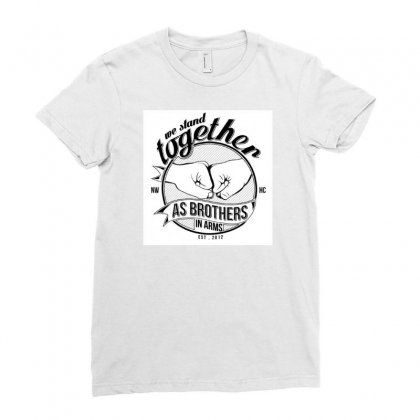 Brother Brand T-shirts Ladies Fitted T-shirt Designed By Tejasadhikari