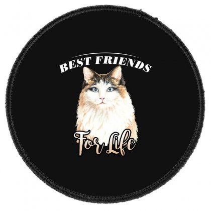 Best Friends For Life Round Patch Designed By Wizarts