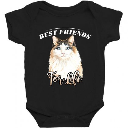 Best Friends For Life Baby Bodysuit Designed By Wizarts