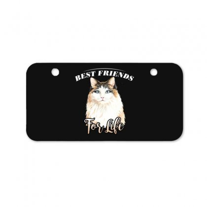 Best Friends For Life Bicycle License Plate Designed By Wizarts