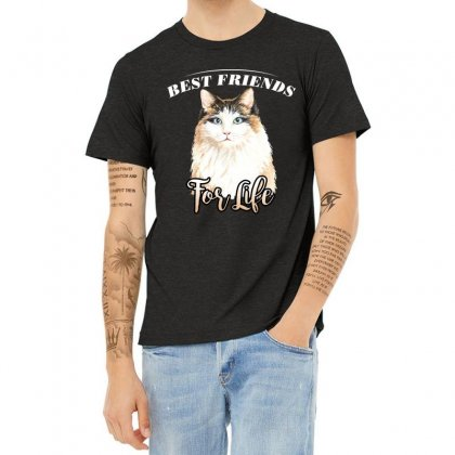 Best Friends For Life Heather T-shirt Designed By Wizarts