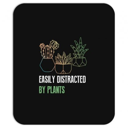Easily Distracted By Plants Mousepad Designed By Wizarts