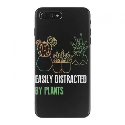 Easily Distracted By Plants Iphone 7 Plus Case Designed By Wizarts