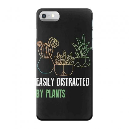 Easily Distracted By Plants Iphone 7 Case Designed By Wizarts