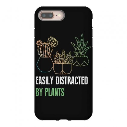 Easily Distracted By Plants Iphone 8 Plus Case Designed By Wizarts