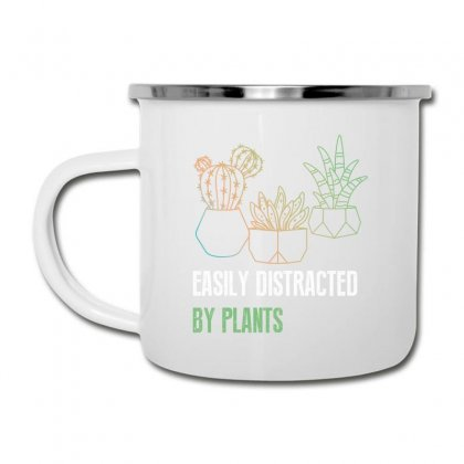 Easily Distracted By Plants Camper Cup Designed By Wizarts
