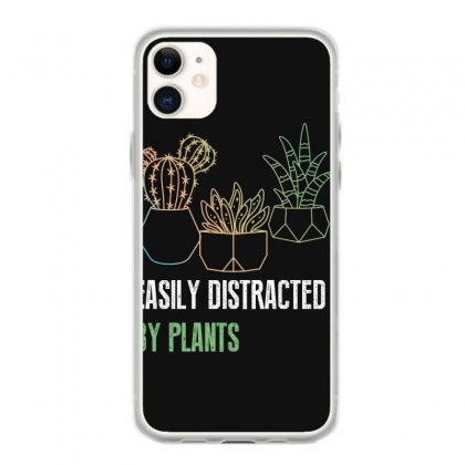 Easily Distracted By Plants Iphone 11 Case Designed By Wizarts
