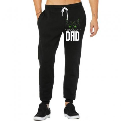 Educator Dad Unisex Jogger Designed By Wizarts