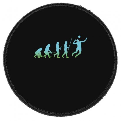 Evolution Volleyball Round Patch Designed By Wizarts