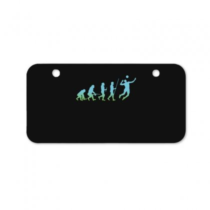 Evolution Volleyball Bicycle License Plate Designed By Wizarts