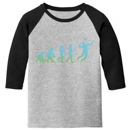Evolution Volleyball Youth 3/4 Sleeve Designed By Wizarts
