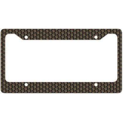Guitar License Plate Frame Designed By Wizarts