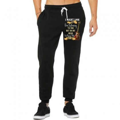 Guitar Unisex Jogger Designed By Wizarts