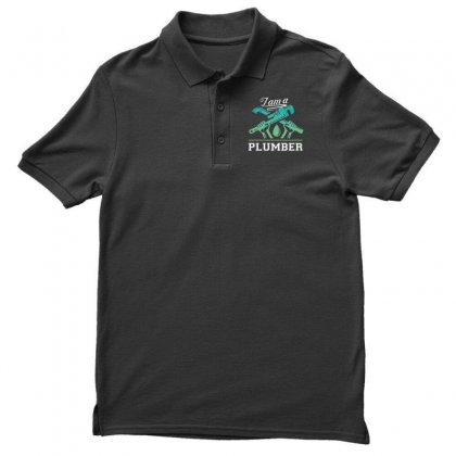 I Am A Plumber Men's Polo Shirt Designed By Wizarts