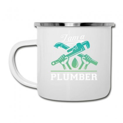 I Am A Plumber Camper Cup Designed By Wizarts