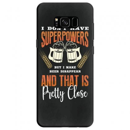 I Don't Have Superpowers Samsung Galaxy S8 Case Designed By Wizarts