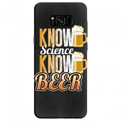 Know Science Know Beer Samsung Galaxy S8 Case Designed By Wizarts