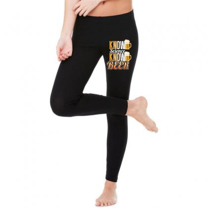 Know Science Know Beer Legging Designed By Wizarts