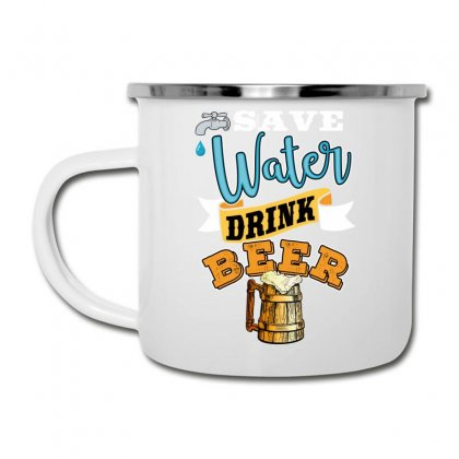 Save Water Drink Beer Camper Cup Designed By Wizarts